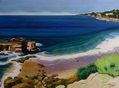 Kathleen Jensen - North Beach Laguna with Rocks - #nativelycali