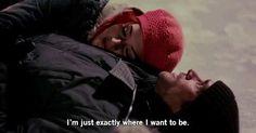 Estoy exactamente donde quiero estar...