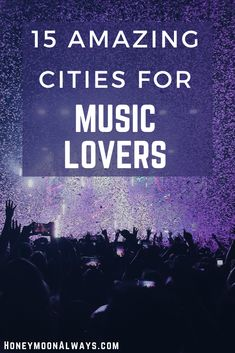 If you love live music or American music history then why not make your passion part of your travels. Here are destinations in the USA where music lovers can experience live music of many genres, visit museums dedicated to music or step into historical sites made famous by the music legends who called them home. #music #travel Honeymoon Planning, Honeymoon Ideas, Vacation Ideas, Us Travel Destinations, Best Places To Travel, Romantic Getaways, Romantic Travel, Travel List, Usa Travel