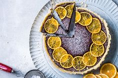 Celebrate seasonal citrus fruit with this clementine & chestnut chocolate tart recipe for an indulgent dessert. See more Dessert recipes at Tesco Real Food. Christmas Pudding, Christmas Baking, Christmas Foods, Homemade Christmas, Gluten Free Mince Pies, Tart Recipes, Dessert Recipes, Gluten Free Christmas Recipes, Tesco Real Food