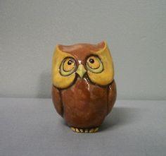 Ceramic Owl Stocking Stuffer or Christmas Gift by TLCCeramicsIL, $14.00