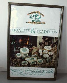 Séquence nostalgie aujourd'hui à la fromagerie en retombant sur l'un de nos premiers panneaux de publicité !