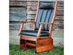 buckeye glider - Google Search Amish Furniture, Wood Furniture, Outdoor Furniture, Glider Chair, Outdoor Chairs, Outdoor Decor, Gliders, Red Wing, Woods