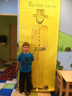 How tall is Abe Lincoln math activities discoverykidzone....