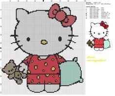 Schema punto croce Hello Kitty a nanna 100x99 7 colori.jpg (2.88 MB) Mai osservato