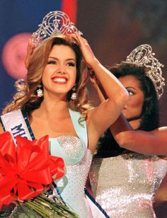 Its the way he treats her Alicia Machado - Miss Universe 1996 - Venezuela. Miss Universe Yes but you are much more. The Princess of the Amazons