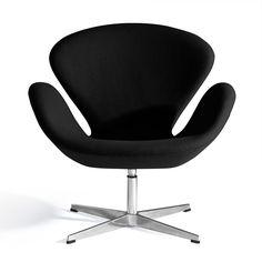Jacobsen Style Swan Chair