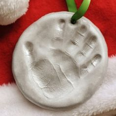 You'll have to make these some day! Air Dry Clay Ornament  http://craftgawker.com/page/12/#