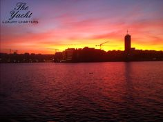 Amazing Sunset The Yacht Luxury Charters www.theyachtmalta.com