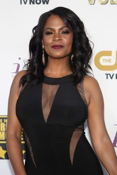 Nia Long bares all for Allure magazine, but we've compiled some of her best looks over the past year. Nia Long, I Love Black Women, Black Is Beautiful, Black Girls, Beautiful Women, Sexy Older Women, Sexy Women, Fit Women, Black Actresses