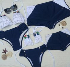 Moda Praia Infantil 2019 62 New Ideas Summer Bathing Suits, Summer Suits, Bikinis, Swimsuits, Swimwear, Baby Dolls, Baby Swimming, Mommy And Me Outfits, Matching Family Outfits