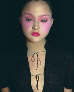 Devon Aoki, Jeremy Scott 1999 #devonaoki #jeremyscott #makeup @itsjeremyscott