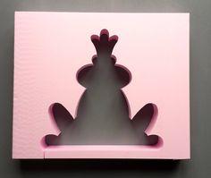 Deko-Objekte - Giessform Beton FROSCHKOENIG 18 cm - ein Designerstück von BIF-Hermes bei DaWanda