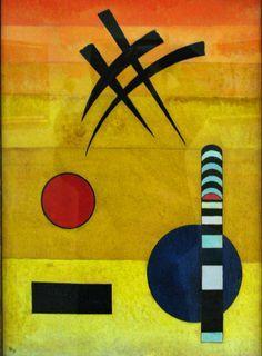 Wassily Kandinsky -1866 Russia -1944, France. Periods: Expressionism, German Expressionism, Modern art, Der Blaue Reiter, Abstract art