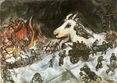 Marc Chagall. War, 1964–1966