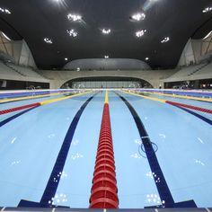 London 2012 Aquatics Centre by Zaha Hadid Architects