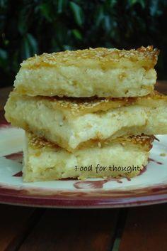 Greek Sweets, Greek Desserts, Greek Recipes, Greek Appetizers, Greek Cooking, Cooking Time, Sweets Recipes, Cooking Recipes, Cookie Dough Pie