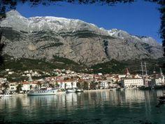 Makarska Riva en Makarska, Splitsko-Dalmatinska Županija
