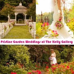 Weddings in the Garden at The Kelly Gallery!  Our flowers are blooming just in time for wedding season!  Visit our website for more information on events and photography services at www.thekellygallery.com