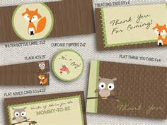 woodland creature goodie bag - - Yahoo Image Search Results