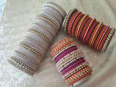 Silver Bracelets, Gold Bangles, Bangle Bracelets, Healing Bracelets, Indian Jewelry Sets, Indian Wedding Jewelry, Indian Bangles, India Jewelry, Fancy Jewellery