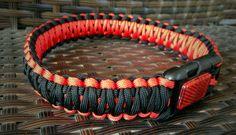 Paracord Dog Collar by UnleashingOurHeroes on Etsy