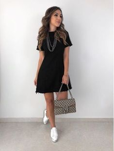Look Fashion, Fashion Outfits, Womens Fashion, Cool Outfits, Summer Outfits, Lawyer Outfit, Casual Dresses, Casual Outfits, Modest Wear