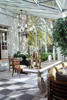 Sunroom by Robert Reeder Interiors