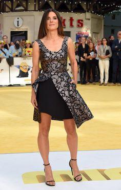 Sandra Bullock Minions Premiere Pictures | POPSUGAR Celebrity