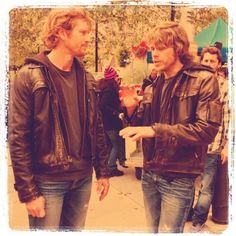 Photo of Eric Olsen and his Brother for fans of NCIS: Los Angeles. his brother is also his stunt double