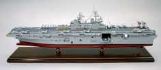Click image for a larger view! - LHD-7 Iwo Jima - Custom Ship Model - Amphibious Attack Ship