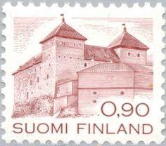 Sello: Stronghold Häme (c. 1260) (Finlandia) (Stronghold Häme) Mi:FI 891A,Yt:FI 855,AFA:FI 898