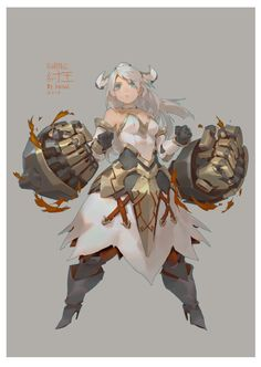 ArtStation - draw for 山海戰記, Krenz Cushart