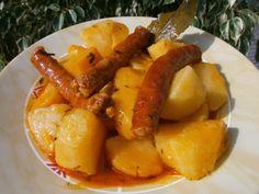 Luzmary y sus recetas caseras: CHISTORRAS AL VINO EN OLLA GM E