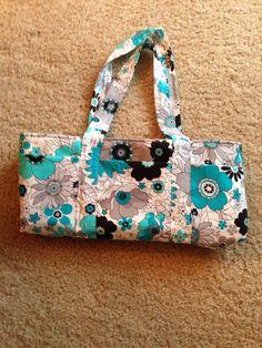 Floral short rectangle shoulder purse.