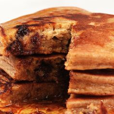 These Girl Scout Cookie-Flavored Pancakes Are Actually Good for You