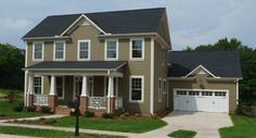 Simple, classic style makes this new home in the Fountain Inn neighborhood of Tucker Branch one to remember.