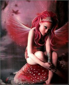 helycharlotte: Fall mushroom fairy by Jenny Laatsch Magic Creatures, Fantasy Creatures, Mythical Creatures, Fairy Dust, Fairy Land, Fairy Tales, Troll, Elfen Fantasy, Kobold