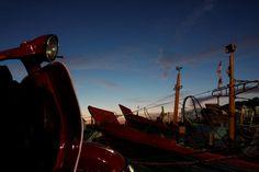 Vespa, #vespa #vespajourney #vespalive #sunset #bay #ships #resting #amateurshoot #landscape #bali #indonesia
