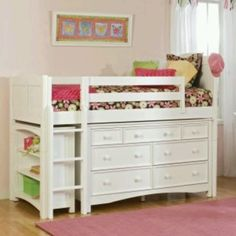 Great idea for a child's room that is short on space
