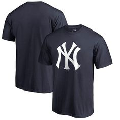 58eb6c26575 Men s New York Yankees Navy Primary Logo T-Shirt Yankees Outfit
