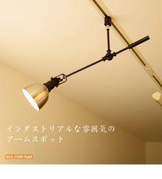D-Spot LED60W形 プラグ式   アルミ   インテリア照明の通販 照明のライティングファクトリー