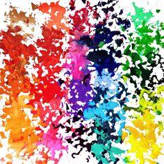 Crayon Canvas Art, Melted Crayon Canvas, Diy Canvas, Canvas Ideas, Crayola Art, Shape Collage, Crayon Crafts, Crayon Set, Broken Crayons