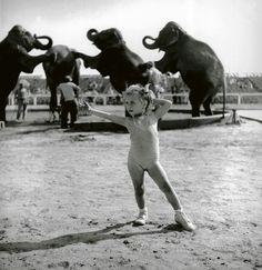 """Stanley Kubrick - """"Circus scene"""",1948"""