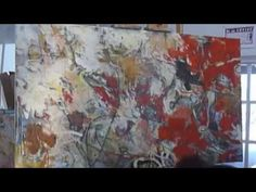 In the studio with Krista Harris....she shows and talks about her creative process..love this work... - YouTube
