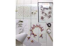 Design DIY: Floating Pressed Botanicals | California Home + Design
