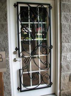 Superieur Decorative Door Window Bars