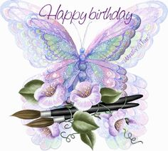 Happy Birthday Butterfly Quotes | HAPPY BIRTHDAY to mlbell70 (Mary Lou) from Pennsylvania- USA on the ...