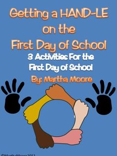 "This packet of three first day of school activities is a great way to give your students a hand as they enter a new grade. These activities are great for lower to mid-elementary students.  Includes: FUN original get to know you game ""Hands"", Goal setting activity, Creating shared rules activity. LOTS of fun!"