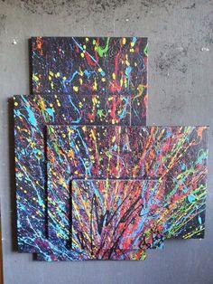 ORIGINAL Wandgebilde XL abstrakt Leinwand Malerei Design Modern Gemälde Bild
